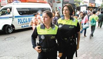 Policías municipales, buenos resultados