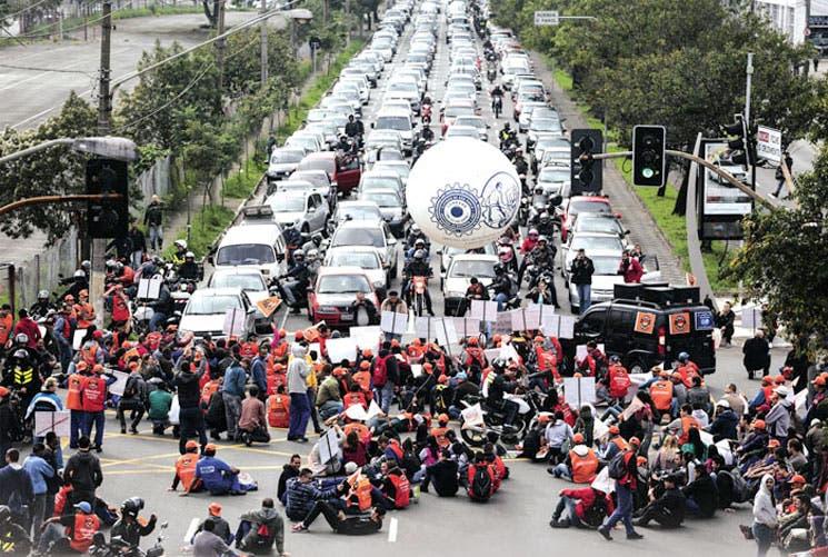 Retornaron las protestas en Brasil