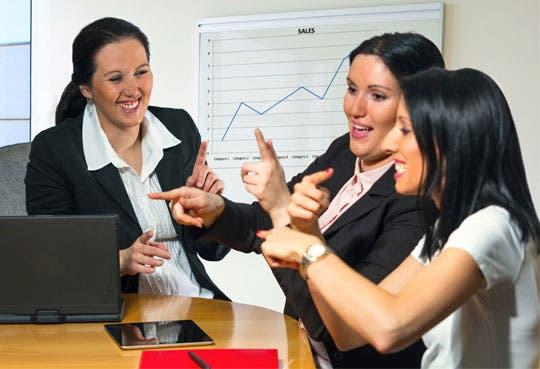 Ronda de negocios para mujeres