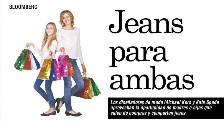 Jeans para madres que comparten con sus hijas