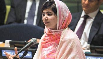 Malala aboga por educación a todos