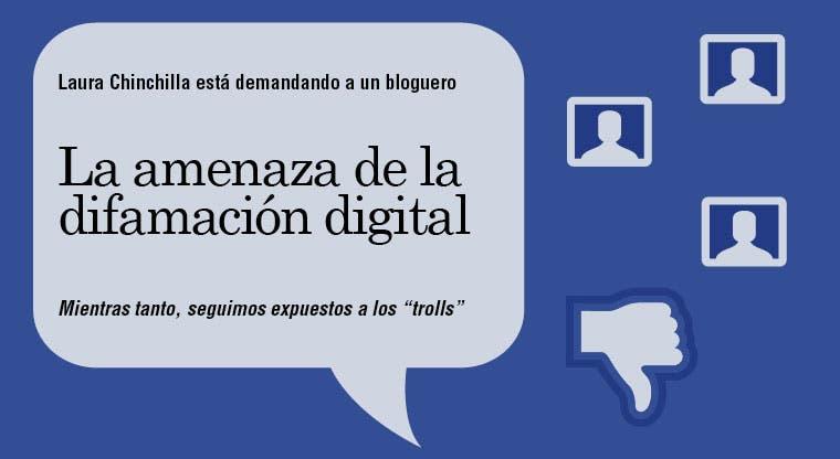 La amenaza de la difamación digital