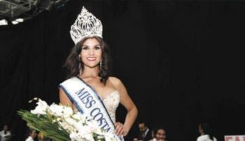 Conozca a la nueva Miss Costa Rica