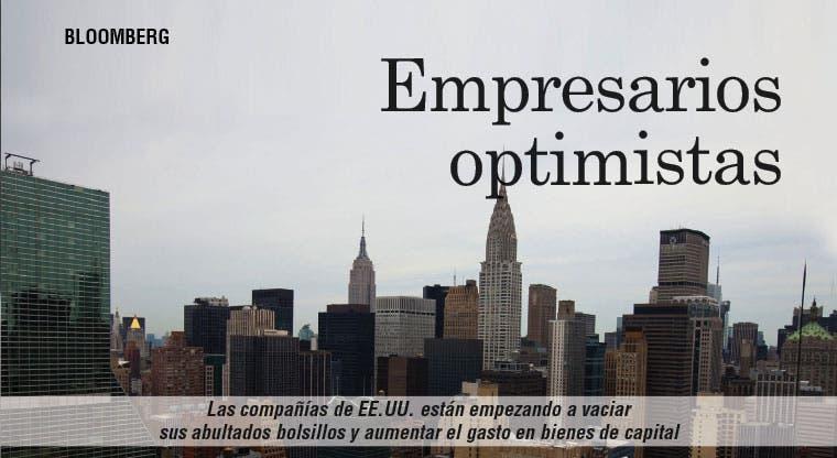 Compañías de EE.UU. más optimistas