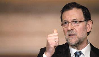 Rajoy desoye denuncias de corrupción