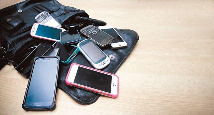Celulares y tabletas, imán para delincuentes