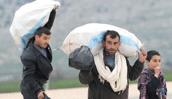 Crisis siria agudiza ayuda humanitaria