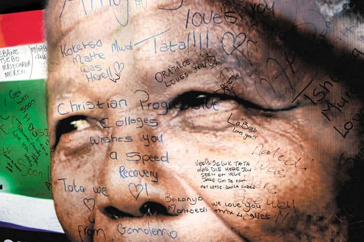 Sudáfrica celebró con fervor cumpleaños de Mandela
