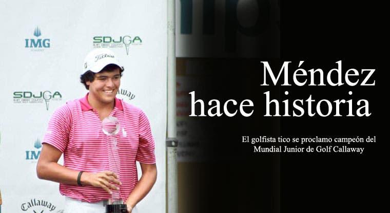 Méndez, histórico campeón