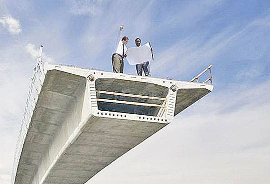 Puentes para mejorar competitividad