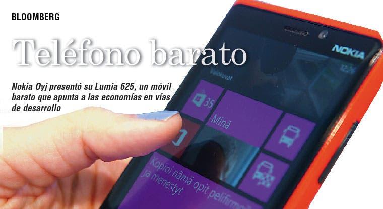 Nokia lanza teléfono barato para mercados emergentes