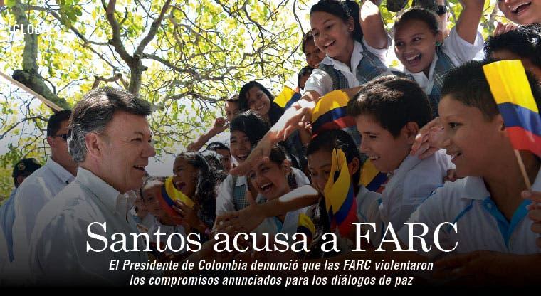 FARC violan compromisos de paz