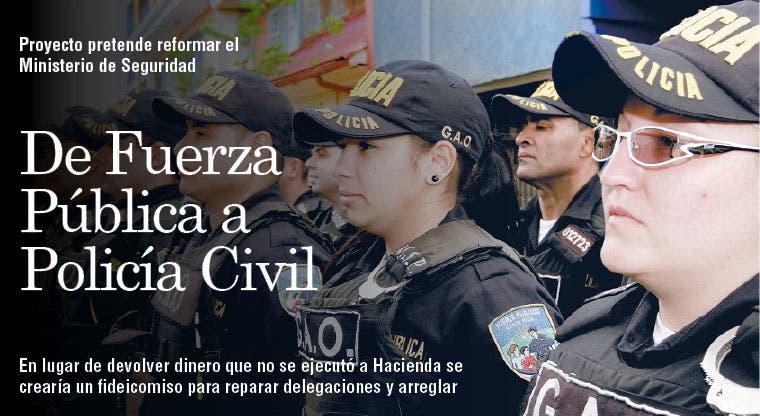 De Fuerza Pública a Policía Civil