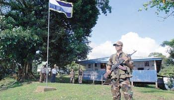 Tensión con Nicaragua, semilla para imagen de Chinchilla