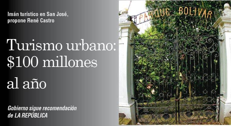 Turismo urbano: $100 millones al año