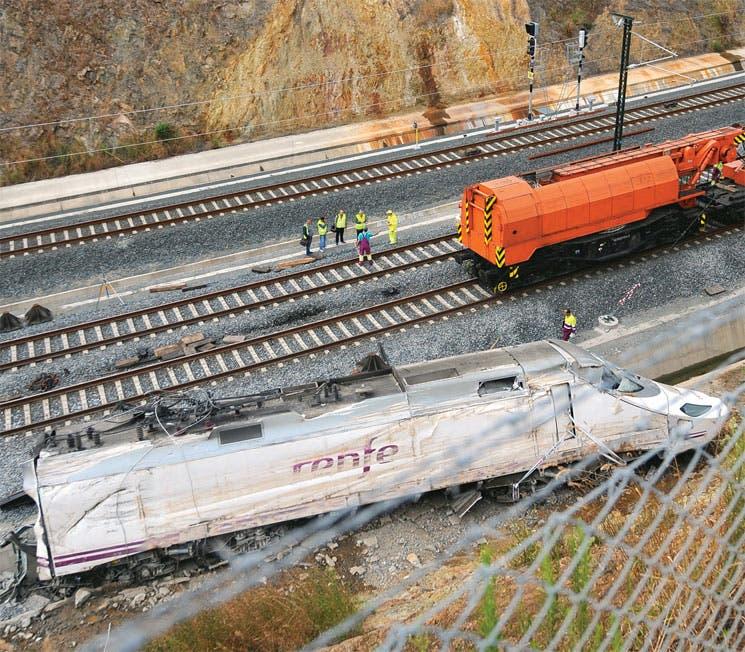 Juez ordena libertad para el maquinista del tren descarrilado