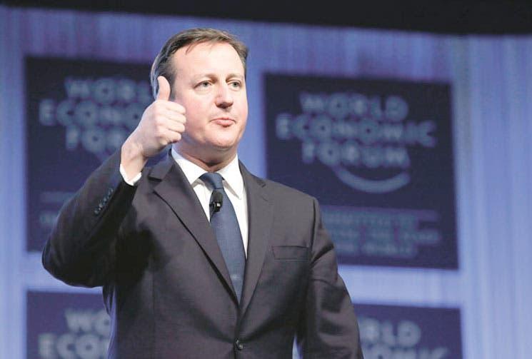 Cameron bien con economía británica