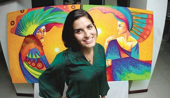Arte pinta sonrisas