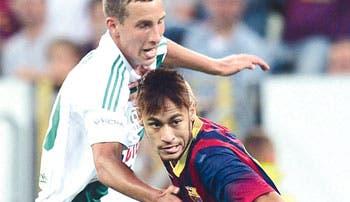 Messi salvó al Barça
