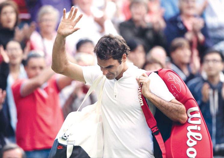 Federer sin brillo, sin magia