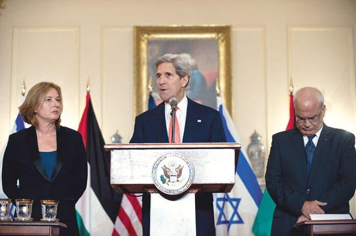 Israelíes y palestinos cierran acuerdo hacia la paz