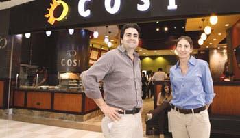 Crece restaurante Cosí