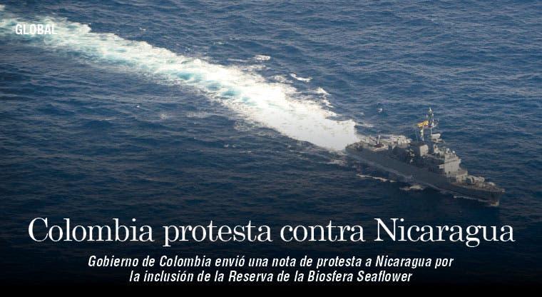 Colombia protesta contra Nicaragua