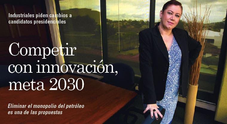 Competir con innovación, meta 2030