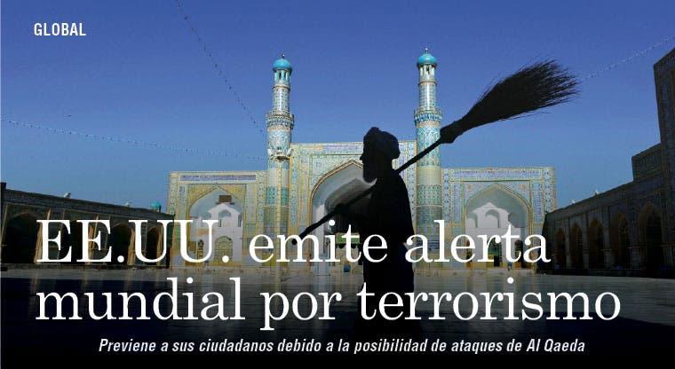 EE.UU. emite alerta mundial por terrorismo
