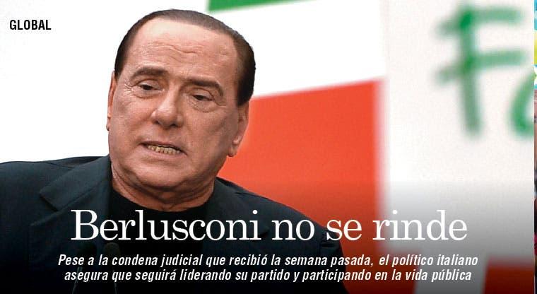 Berlusconi no se rinde pese a condena