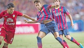 Estreno goleador de Neymar