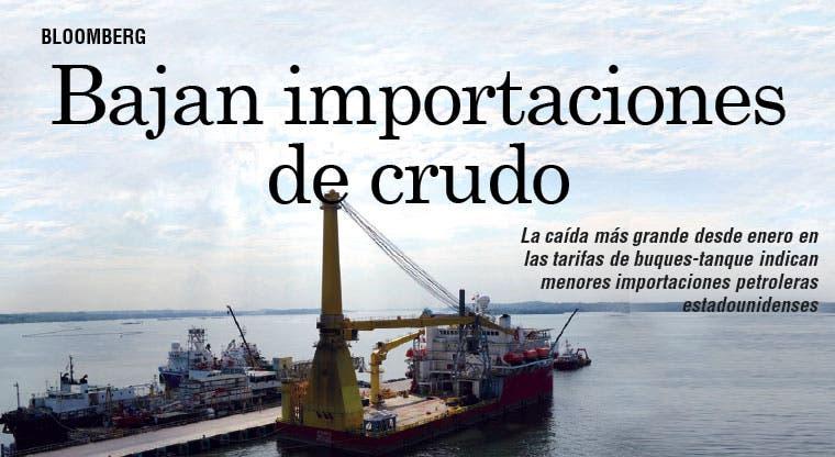 EE.UU. estaría importando menos petróleo
