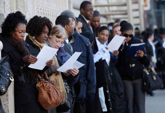 Suben solicitudes de subsidio por desempleo EE.UU.