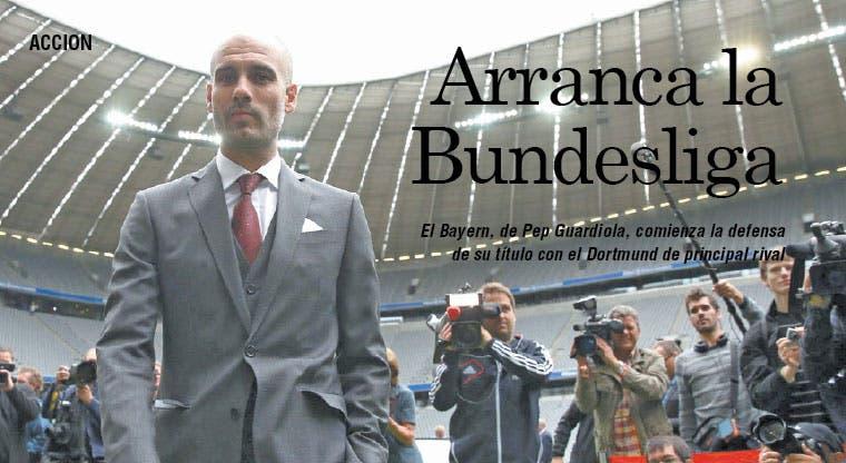 Comienza el reto de Guardiola