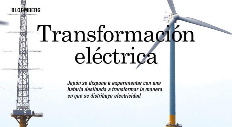 Japón busca transformar red eléctrica