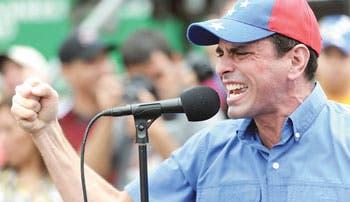 Capriles acusa a Tribunal de cómplice del chavismo