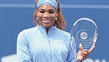 Toronto para Serena