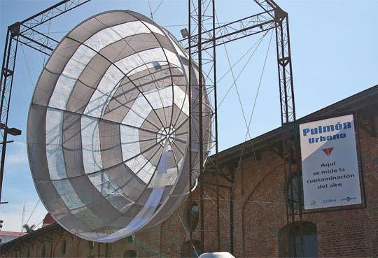 Calidad de aire monitoreada por Pulmón Urbano