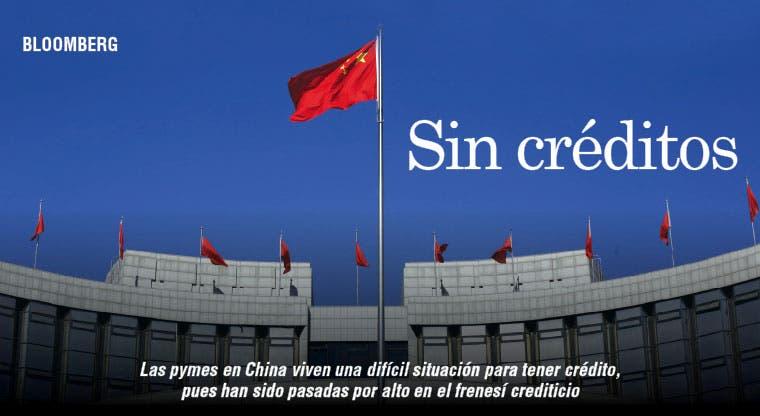 Pymes chinas no tienen acceso a crédito