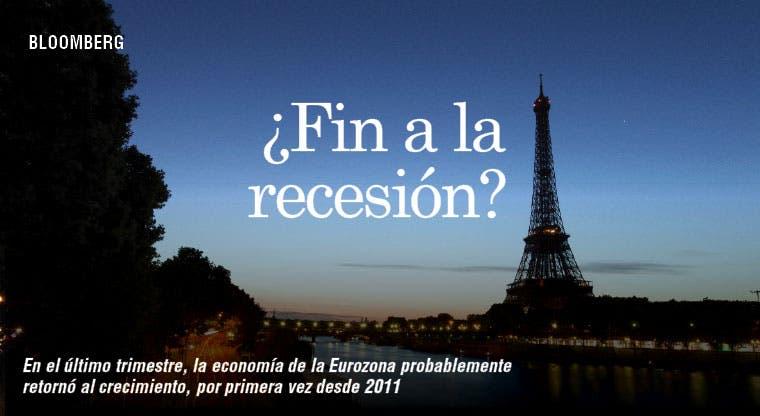 Eurozona pone fin a recesión sin festejos