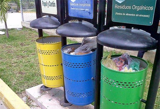 Voluntarios pintarán contenedores para residuos