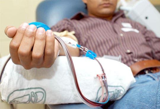 Campaña de donación de sangre en Cartago