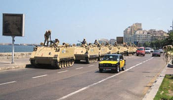 Egipto despierta temor hacia guerra civil