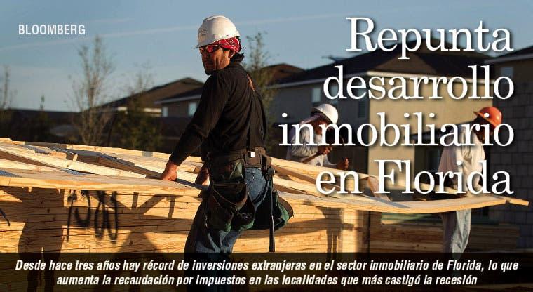 Repunta desarrollo inmobiliario en Florida
