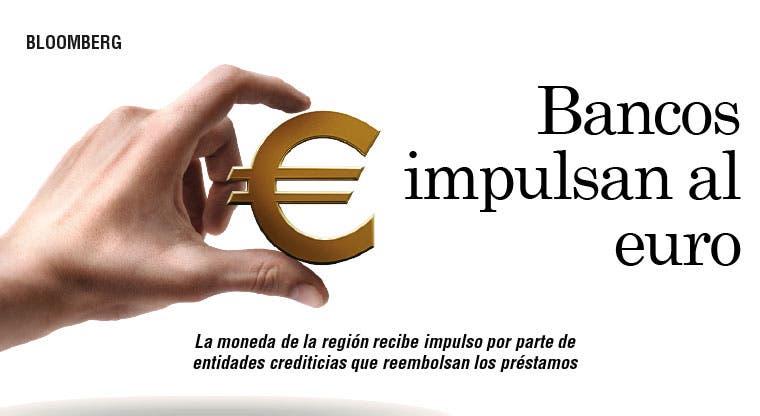 Bancos impulsan al euro