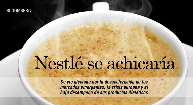 Nestlé disminuye cartera de productos