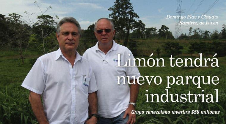 Limón tendrá nuevo parque industrial