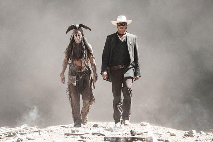 """""""El llanero solitario"""", solo para muy fans de Johnny Depp"""