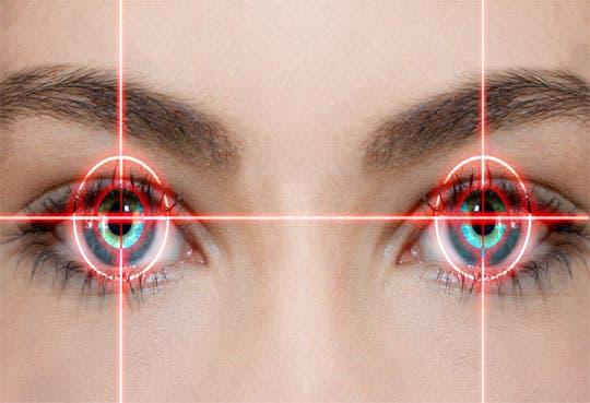 Baja peligro de perder la vista