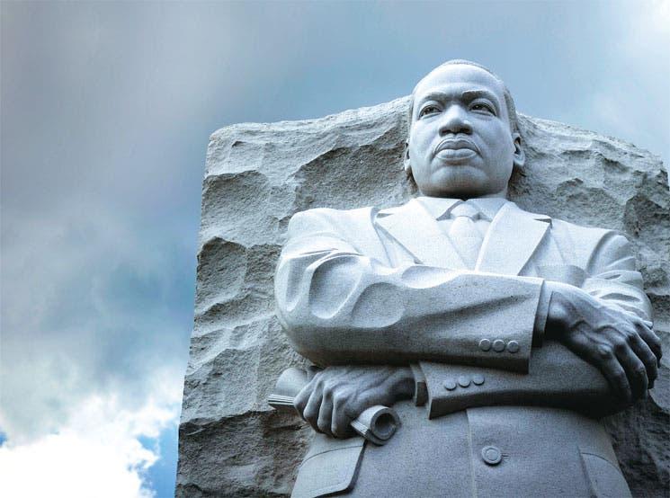 Obama a la sombra de Martin Luther King